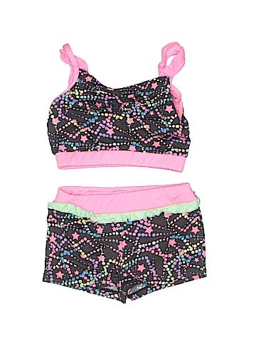 Freestyle By Danskin Two Piece Swimsuit Size 6 - 6X