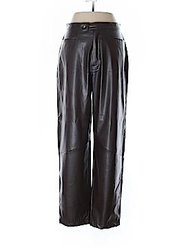 Carolina Blues Faux Leather Pants Size 10