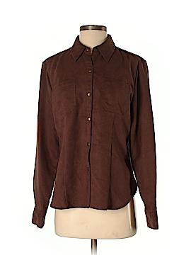 Jones Wear Long Sleeve Button-Down Shirt Size 8