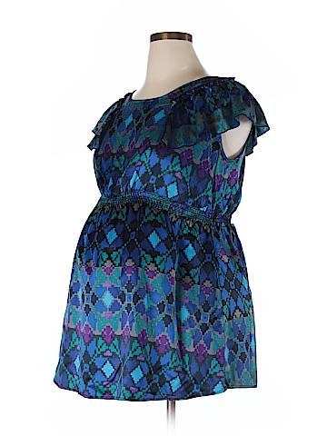 Maternal America Short Sleeve Blouse Size XL (Maternity)