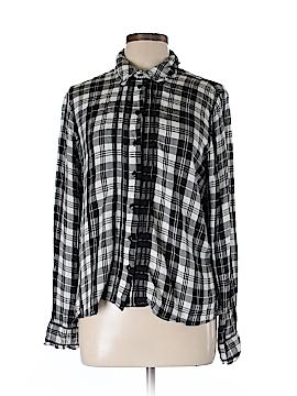 Miss Sulfridge Long Sleeve Button-Down Shirt Size 12