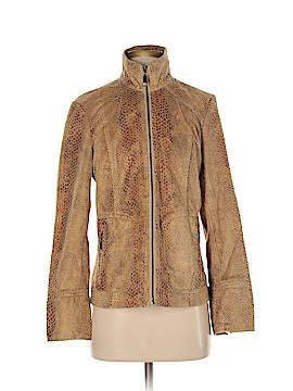 Dialogue Faux Leather Jacket Size S