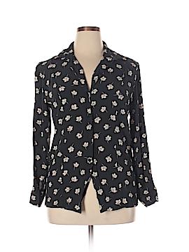 Chaus Long Sleeve Button-Down Shirt Size 14