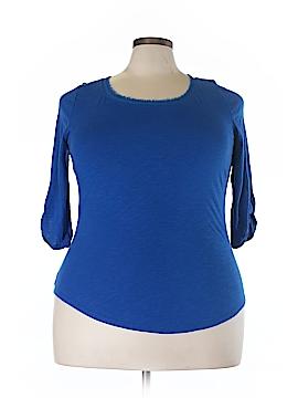 Lane Bryant 3/4 Sleeve T-Shirt Size 14/16 Plus (Plus)