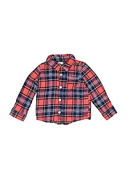 Baby B'gosh Long Sleeve Button-Down Shirt Size 18 mo