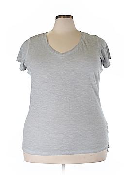 A.n.a. A New Approach Short Sleeve T-Shirt Size 0X (Plus)