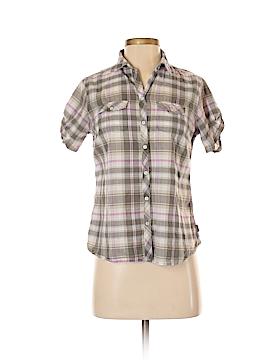Eddie Bauer Short Sleeve Button-Down Shirt Size S