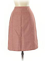 Kate Hill Women Wool Skirt Size 2 (Petite)