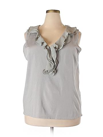 Adrienne Vittadini Sleeveless Top Size 2X (Plus)
