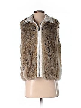 Weatherproof Faux Fur Vest Size S