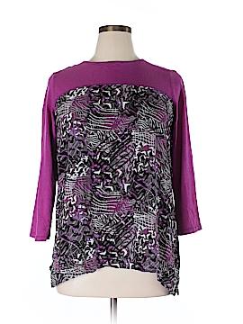 Westbound 3/4 Sleeve T-Shirt Size XL (Petite)