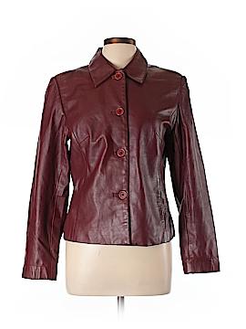 Margaret Godfrey Leather Jacket Size 10