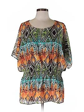 R&K Short Sleeve Blouse Size 8