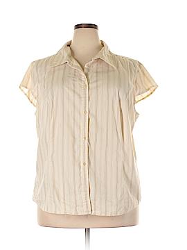 George Short Sleeve Button-Down Shirt Size 22/24 (Plus)