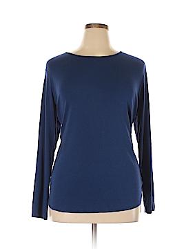 Andrea Jovine Long Sleeve T-Shirt Size 2X (Plus)