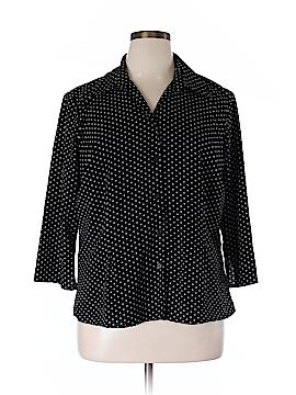 Notations 3/4 Sleeve Blouse Size XL