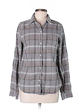 Trovata Long Sleeve Button-Down Shirt Size L