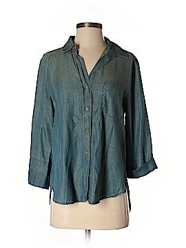 Velvet Heart 3/4 Sleeve Button-Down Shirt Size S
