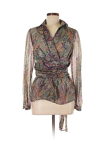 ETRO Long Sleeve Blouse Size 44 (IT)