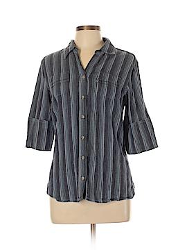 Cabela's 3/4 Sleeve Button-Down Shirt Size L