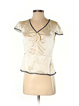 Cynthia Cynthia Steffe Short Sleeve Silk Top Size 4