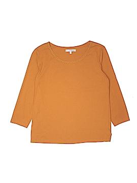Company Ellen Tracy 3/4 Sleeve T-Shirt Size XL