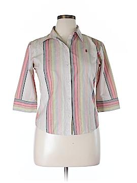 Polo 3/4 Sleeve Button-Down Shirt Size XL