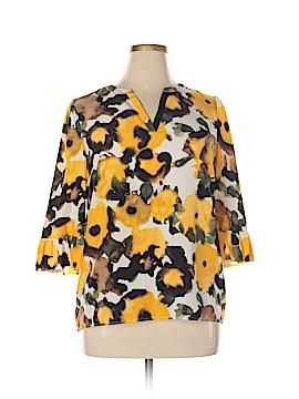 Kensie 3/4 Sleeve Blouse Size L