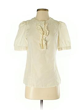 Halogen Short Sleeve Button-Down Shirt Size S