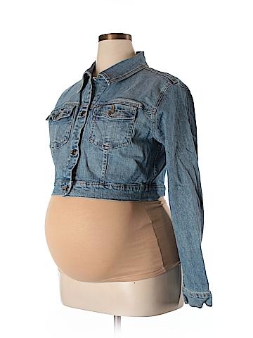 Motherhood Denim Jacket Size XL (Maternity)