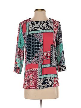 Peace Love World 3/4 Sleeve Blouse Size S