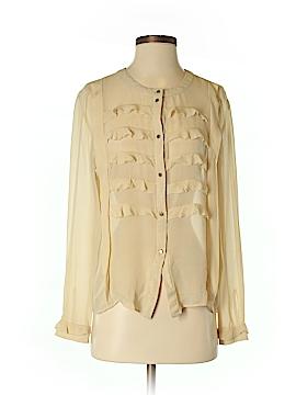 By Malene Birger Long Sleeve Blouse Size 36 (EU)