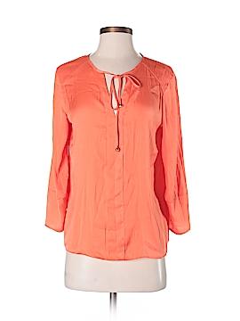 Adrienne Vittadini 3/4 Sleeve Blouse Size S