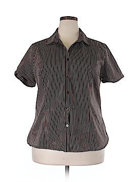 George Short Sleeve Button-Down Shirt Size XXL