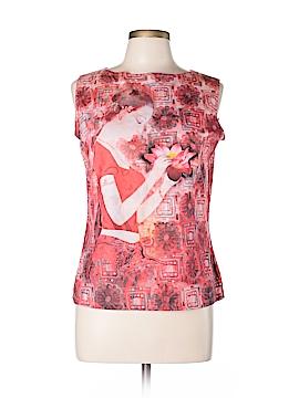 Sarah B Studio Sleeveless Blouse Size L