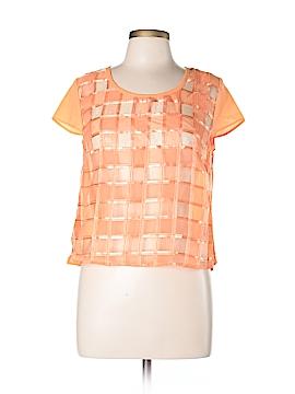 Valentine Short Sleeve Blouse Size L