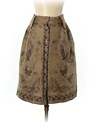 Philosophy di Alberta Ferretti Silk Skirt Size 4