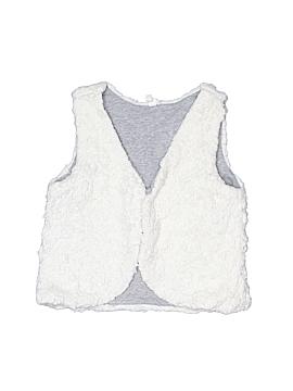 Hanna Andersson Faux Fur Vest Size 110 (CM)