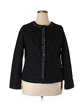 Lane Bryant Denim Jacket Size 18 (Plus)