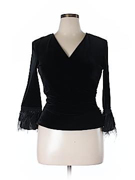Jackie Jon 3/4 Sleeve Blouse Size L