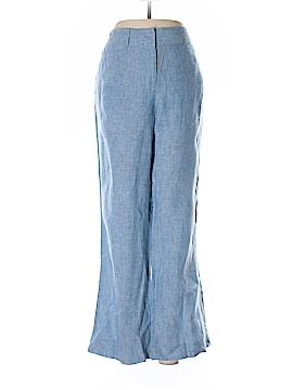 Petite Sophisticate Linen Pants Size 8