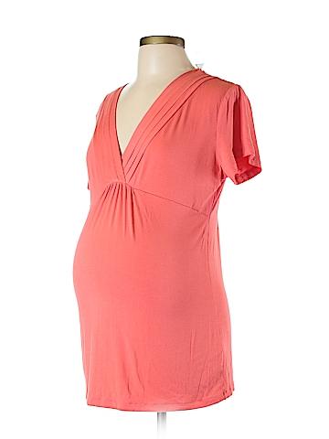 Gap - Maternity Short Sleeve Top Size L (Maternity)