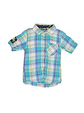 Kartoons Kataloons Short Sleeve Button-Down Shirt Size 6