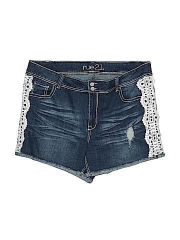 Rue21 Denim Shorts Size 18 (Plus)
