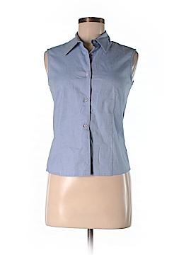 Piazza Sempione Sleeveless Button-Down Shirt Size 42 (IT)