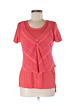 Zoe Short Sleeve Top Size S