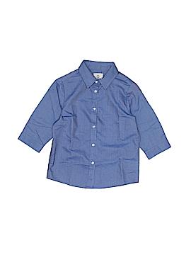 Lands' End 3/4 Sleeve Button-Down Shirt Size 5
