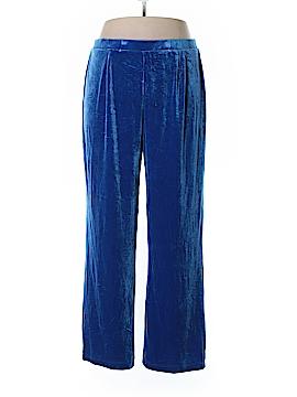 Draper's & Damon's Velour Pants Size XL