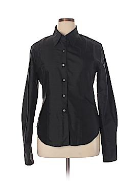 Gap Long Sleeve Silk Top Size XL