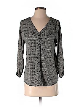 Verve Ami 3/4 Sleeve Button-Down Shirt Size S